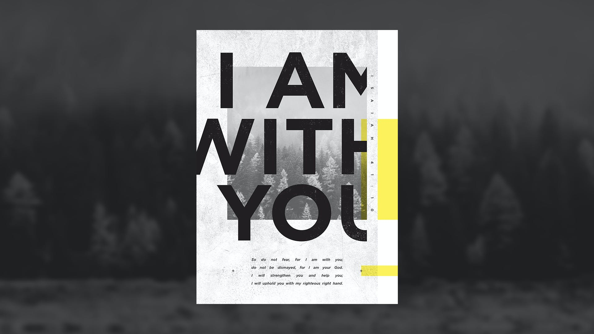"""Art + Truth = God Saying, """"I Am With You"""""""