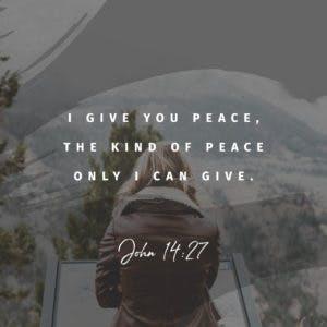 Scripture Art John 14:27