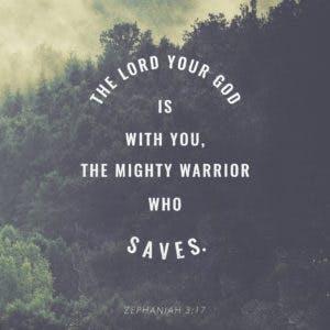 Scripture Art Zephaniah 3:17