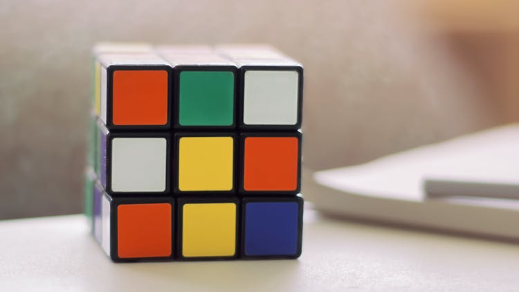 What My Rubik's Cube Taught Me About Life, Faith, and Trust in God